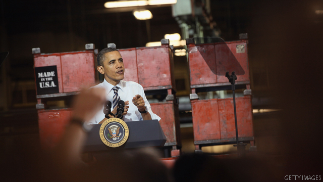 At Boeing facility, Obama to promote manufacturing, competition with China