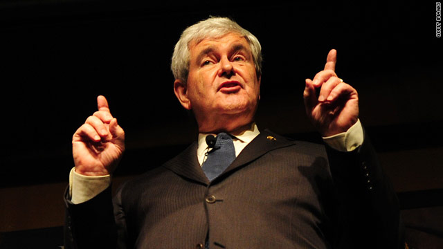 Gingrich suggests candidacy rests on Georgia