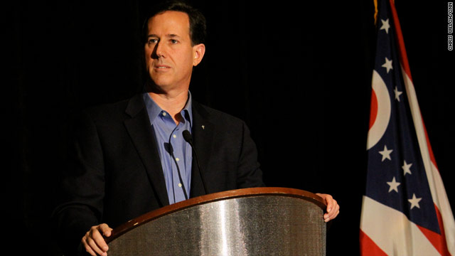 Santorum: Obama leads with a &#039;different theology&#039;