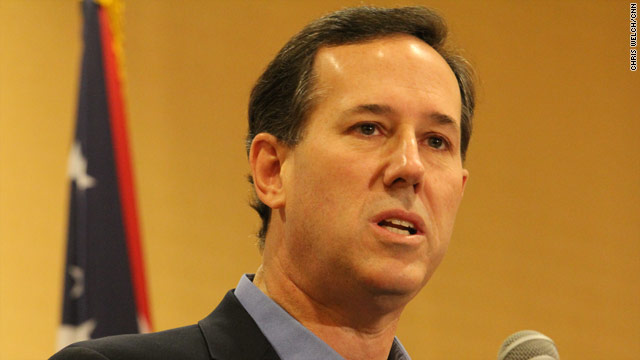 Santorum: Romney earmarked his way through the Olympics