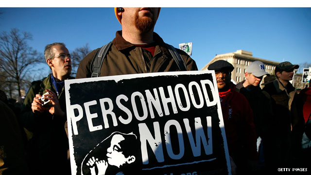Virginia's 'personhood' bill is latest front in the culture war