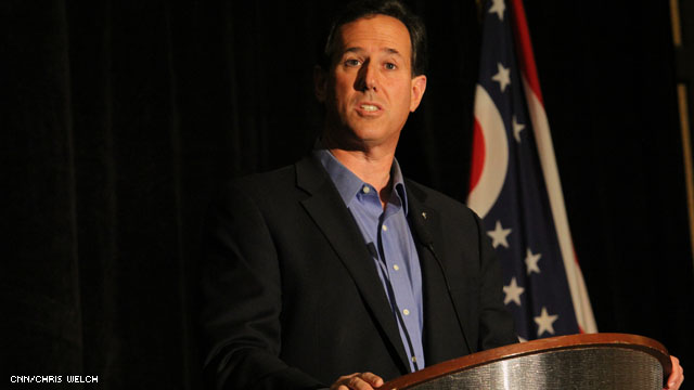 Santorum challenges policy on prenatal testing