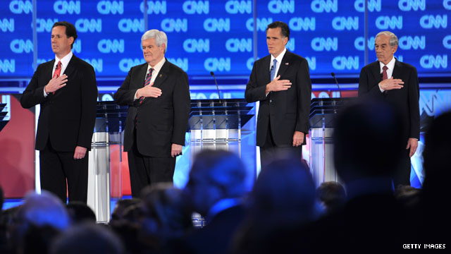 Arizona debate matters for GOP's final four