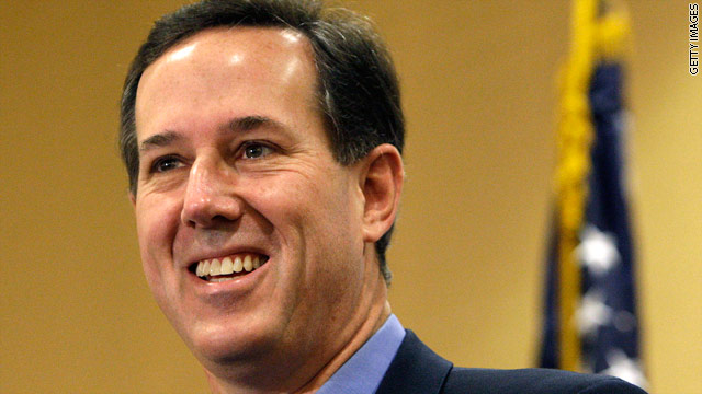 BLITZER&#039;S BLOG: Santorum will be center stage at Wednesday&#039;s CNN debate
