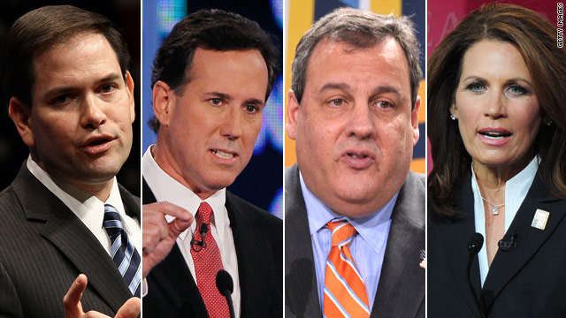 Running mate poll: Santorum up, Bachmann down