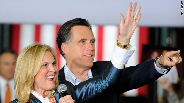 Mitt and Ann Romney heading to Washington Friday