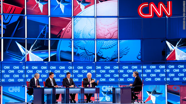 Romney, Santorum go after each other in debate