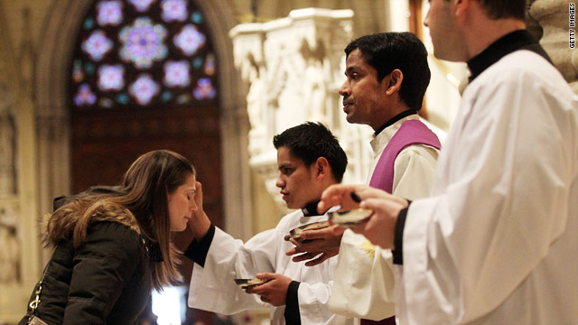 President reaches out to Catholics on Ash Wednesday