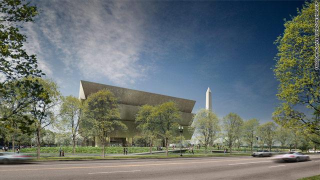 President speaks at black history museum groundbreaking