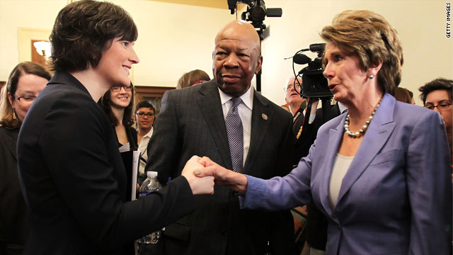 Pelosi aims to draw contrast with GOP on contraception policy