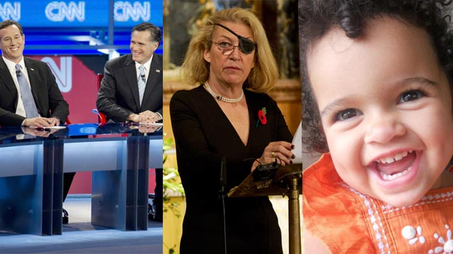 The AC360 Weekly Buzz: Syria, Marie Colvin's death, Santorum, Romney, Honeymoon murder trial, Brad Pitt, baby Veronica