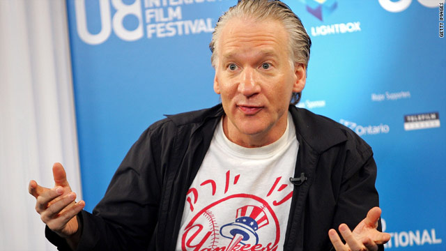 Maher puts one-million dollars behind pro-Obama Super PAC