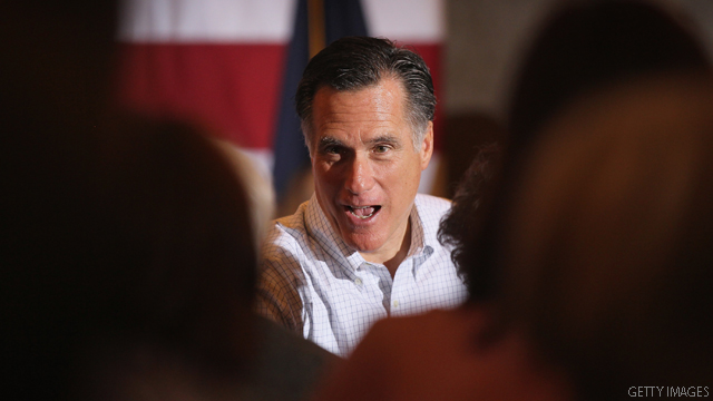 Romney cites 'vast left wing conspiracy'