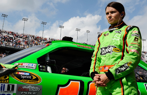 Ground-breaking woman driver Danica Patrick is making the full-time switch to NASCAR from the IndyCar circuit this year.