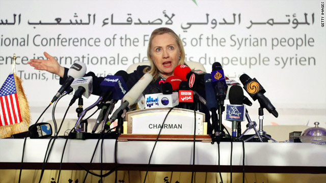 Clinton predicts Obama re-election; urges Tunisians to ignore campaign rhetoric