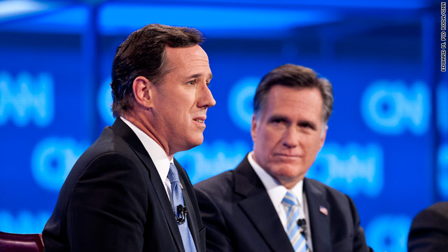 Poll: Gap shrinking between Romney and Santorum in Arizona
