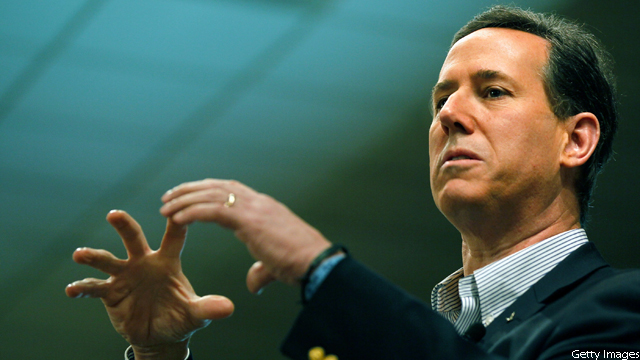 Pastor backing Santorum claims Romney is not a Christian