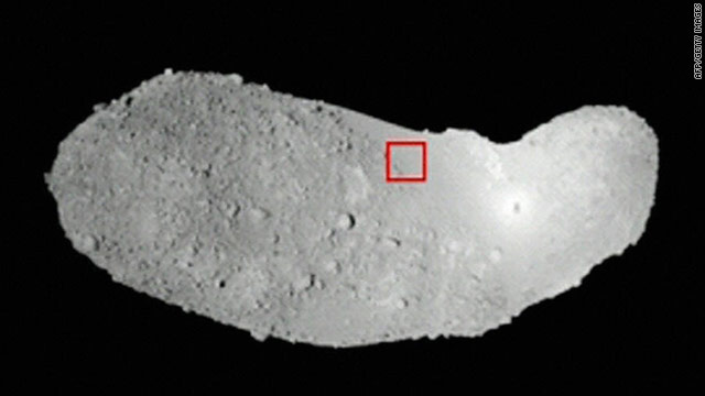 Asteroid grains help explain 'space weathering'