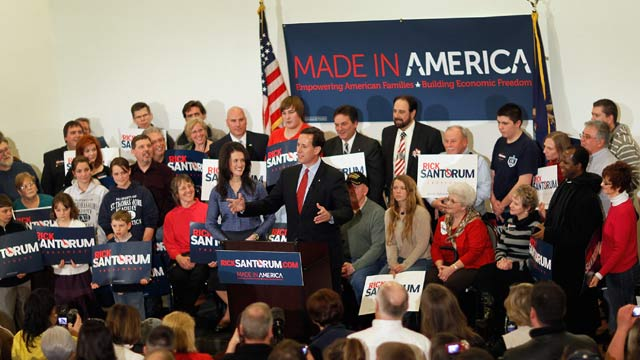 Raw Politics: Can Santorum's Michigan campaign count on a volunteer army?