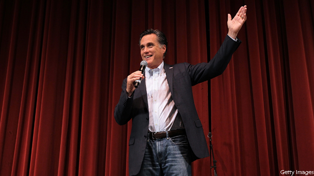 New Obama ad features a crooning Romney