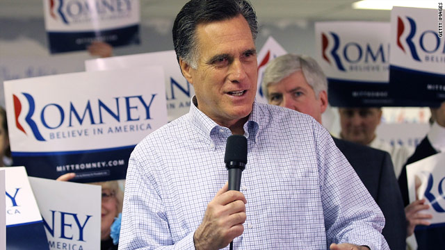 BLITZER'S BLOG: Will Michigan voters swing in Romney's favor?
