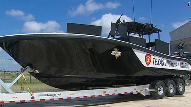 Texas &#039;navy&#039; to patrol the Rio Grande