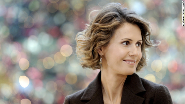 Asma al-Assad: fearless critic of barbarism, unless it's aimed at her own people