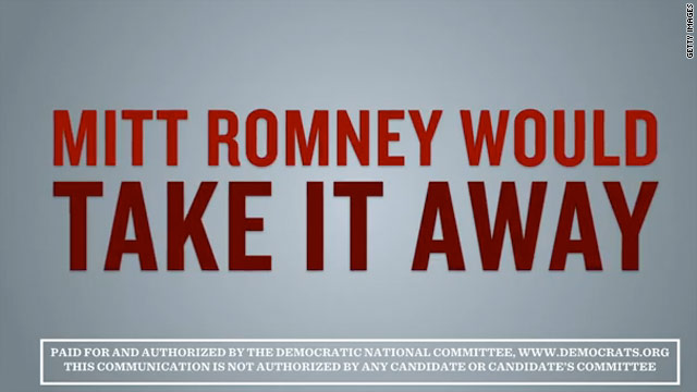 DNC attacks Romney over women's health care
