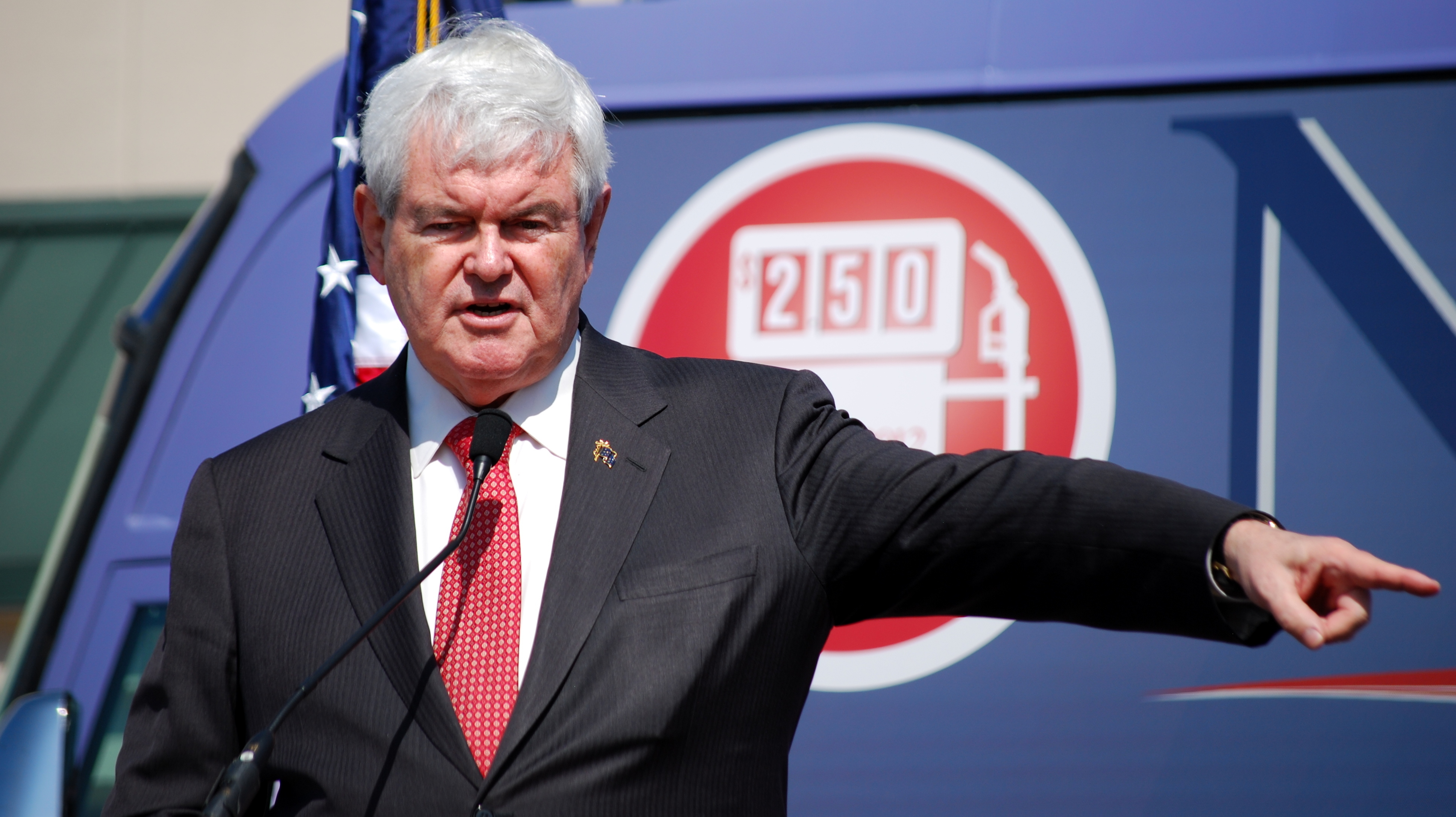 Gingrich robo call labels Santorum 'union bosses' pal'