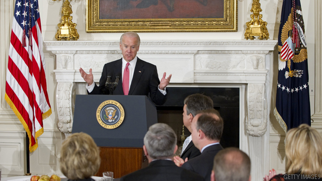 Biden hits Santorum over 'snob' comment