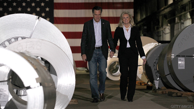 Ann Romney hits back at Bill Clinton
