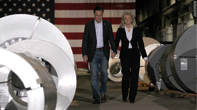 Ann Romney tries to steer GOP conversation back to the economy