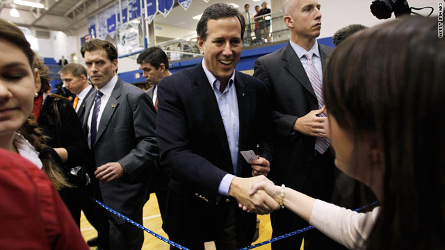 Oklahoma poll: Santorum up by double digits