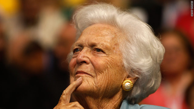 Barbara Bush robo calls for Romney