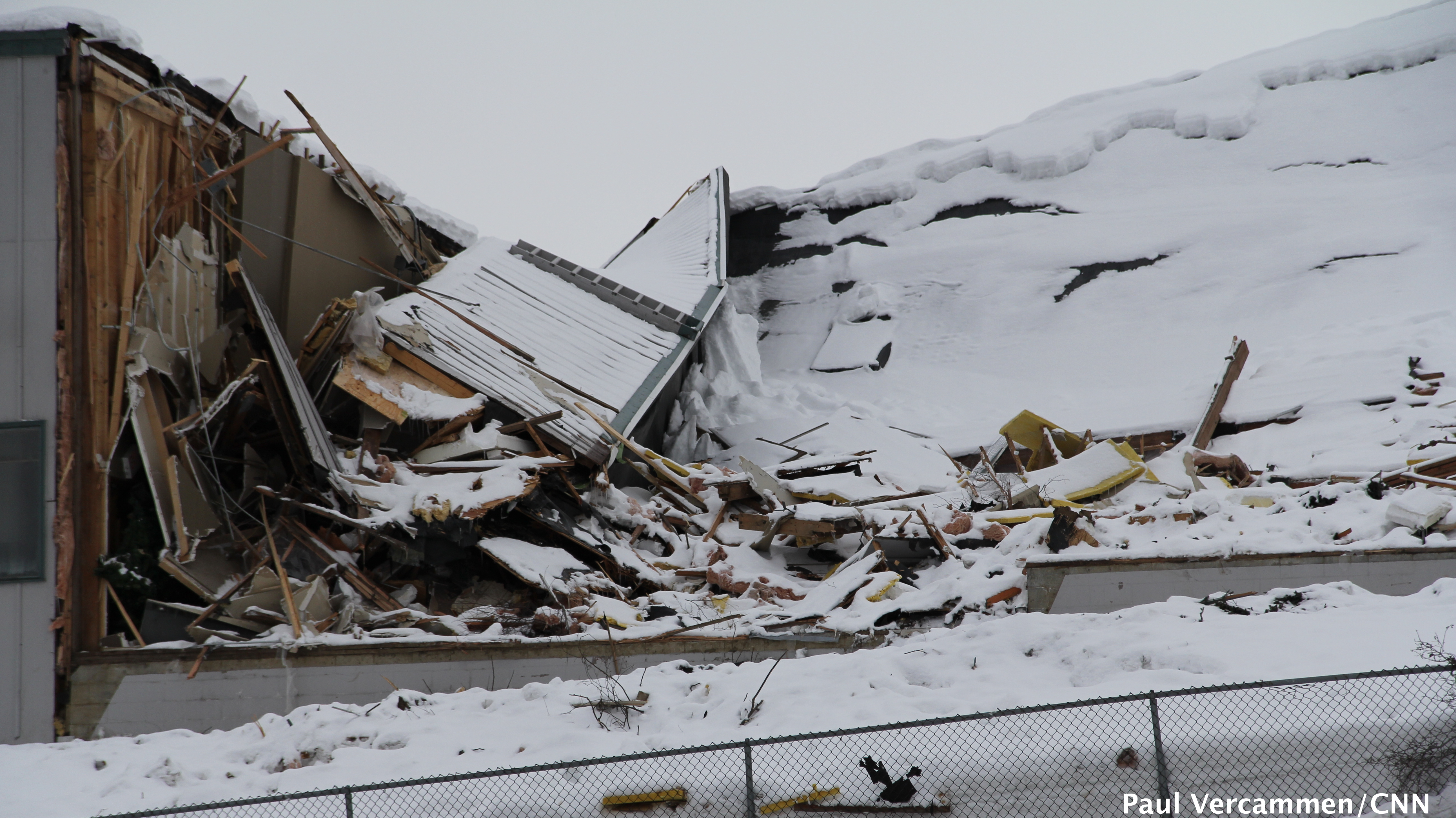 Anchorage snow damages GOP caucus site