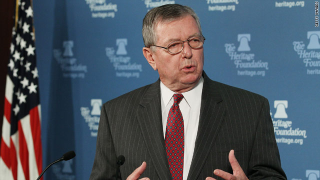 Former Bush A.G. Ashcroft backs Romney