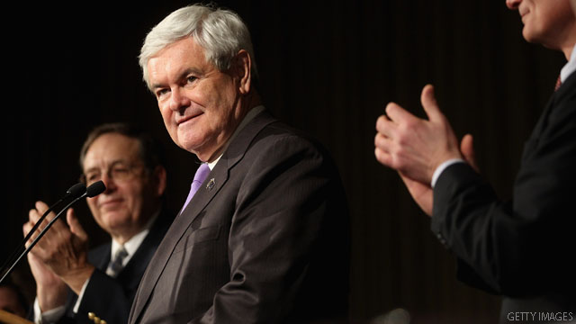 Gingrich: Romney &#039;far and away&#039; likely nominee