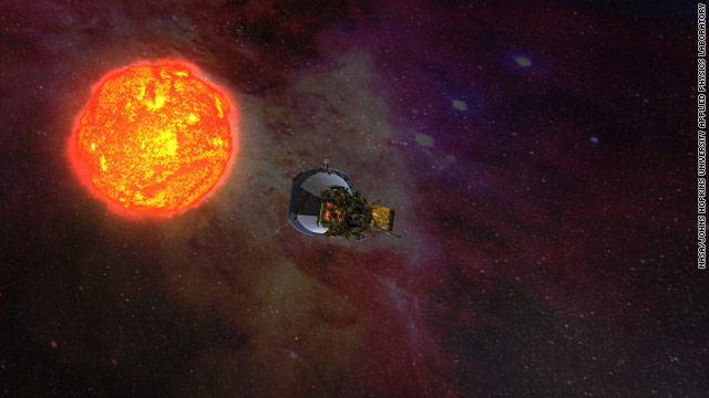 Studying the sun up close: Solar Probe Plus