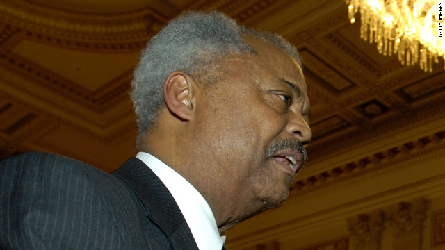 New Jersey Congressman Donald Payne dies
