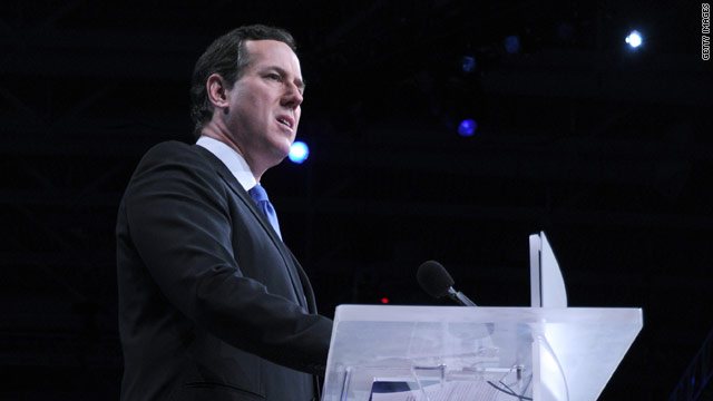 Santorum: I'm not asking anyone to drop