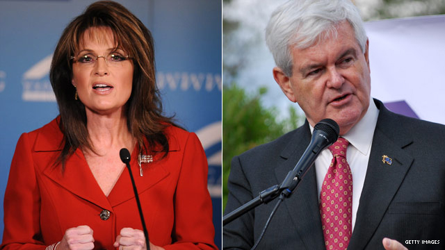 Palin votes for Gingrich