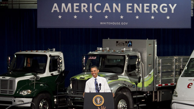 Obama talks new energy technologies