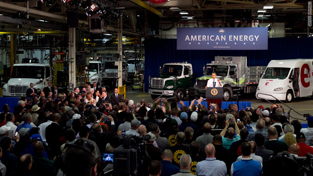 Obama makes alternative-fuel vehicle push