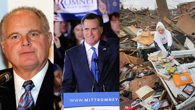The AC360 Weekly Buzz: Super Tuesday, Limbaugh, Tornado destruction, eugenics victims, helping Syria, Sarah Palin