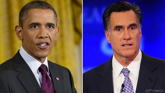 Obama and Romney ahead in ad fight