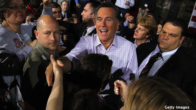 Romney and Santorum face Illinois showdown