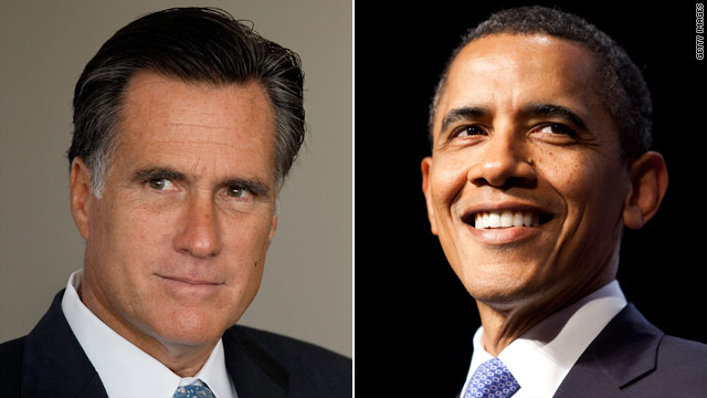 Romney and Obama sound off with playlists