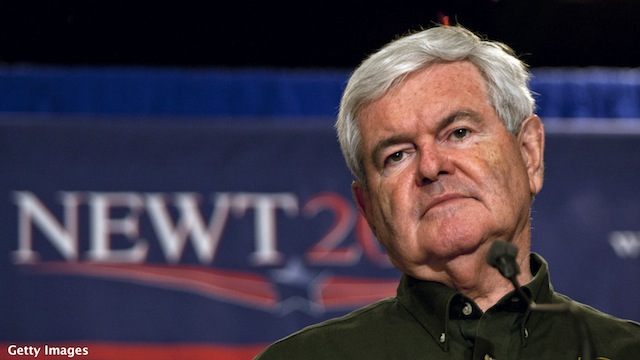 Gingrich pins hopes on hashtags