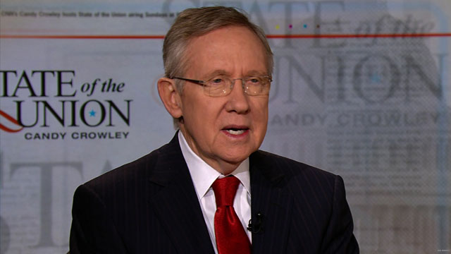 Reid defends White House relationship