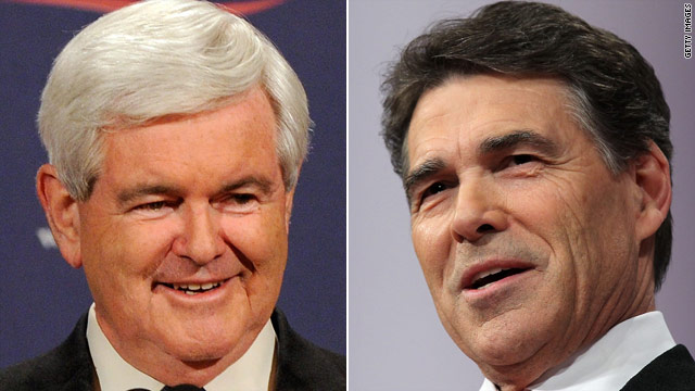 Gingrich, Perry aides downplay talk of pre-convention ticket
